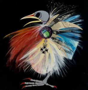 Fågel skalbagge